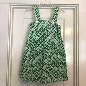 Tibi size 0 dress.  Green and white